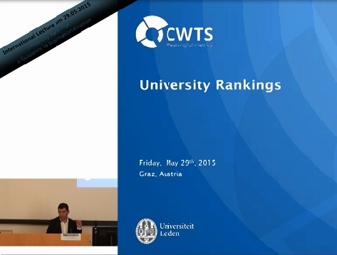Lecture: University Rankings: A Guidance to Internationalization